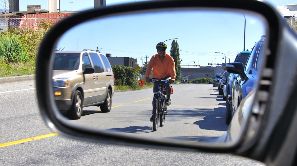 Cyclists and motorists will have to share less and less road as Richmond develops and its estimated population grows by 80,000 by 2041