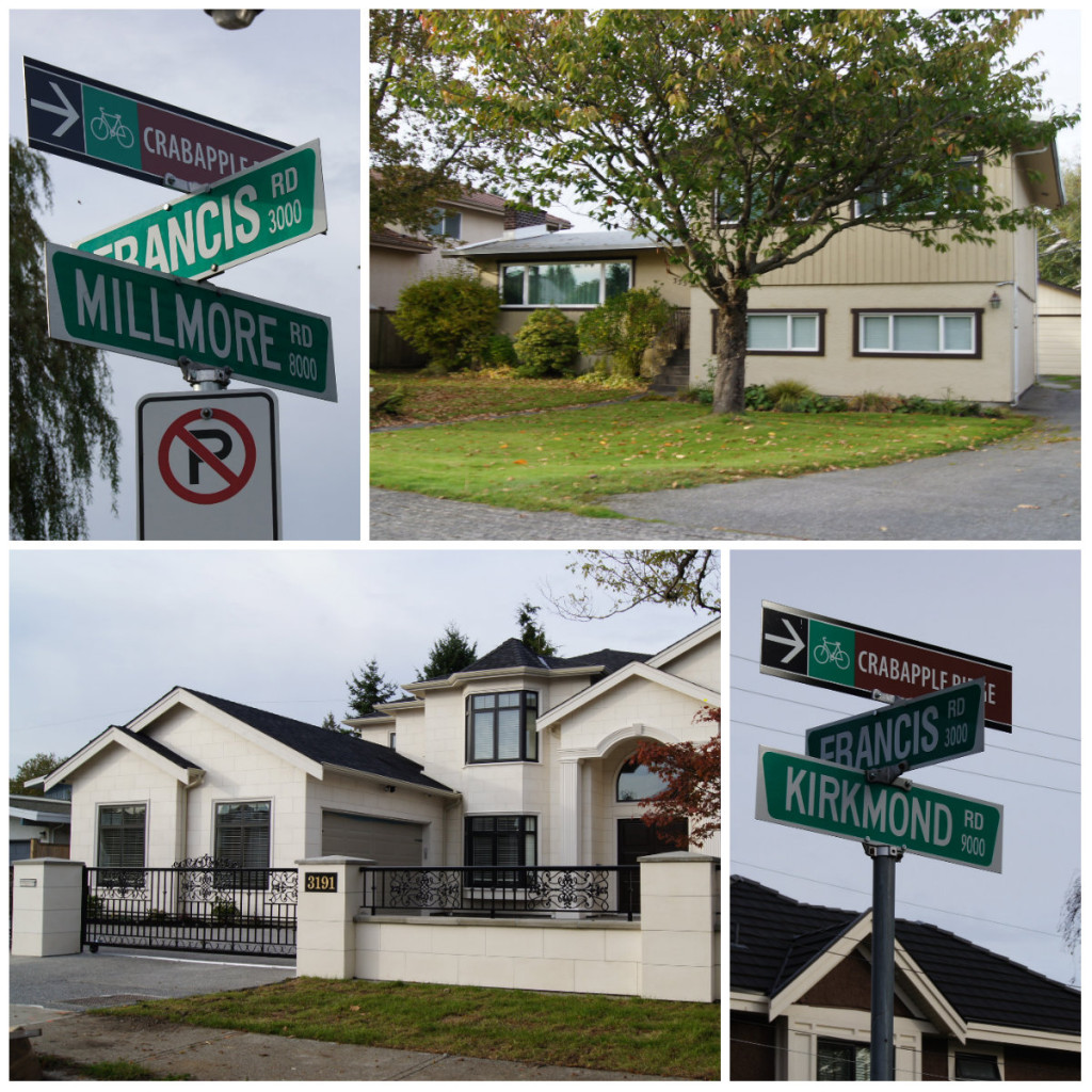 What's in a name? West Richmond has two distinct neighbourhoods - the 'monds' and the 'moores' named after their original subdivisions Richmond Place and Gilmore Place. Street names indicate which neighbourhood you're in.