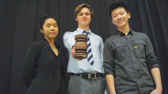 Grade 12 students took part in the second annual Richmond Charter Cases Challenge at Steveston-London.
