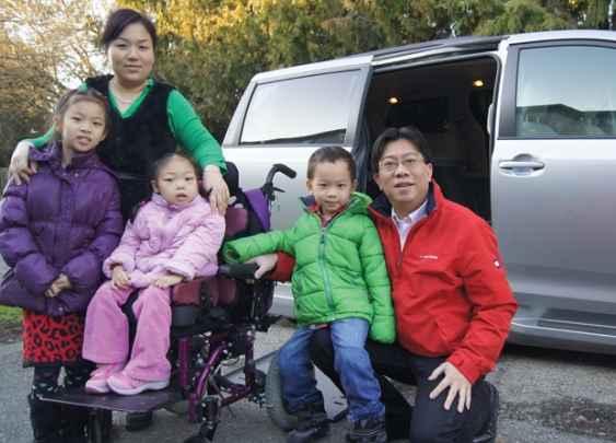 The Jin family from Richmond is tough as nails! They got handed a tough challenge in life but have overcome a lot of it. They seem like a happy family and are a reminder to us all that we ought to be grateful for what we have.